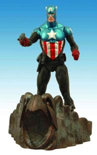 Marvel Select Captain America Action Figure (TOY SPL CO)