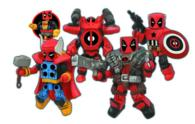 Marvel Minimates Deadpool Assemble (ACF BOX TO)
