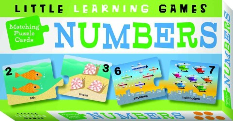 Numbers (Little Learning Games: Matching Puzzle Cards) (CRDS)