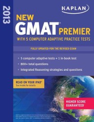 Kaplan New GMAT 2013 Premier (Kaplan Gmat Premier Live) (PAP/PSC UP)