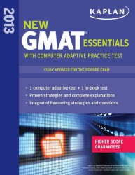 Kaplan New GMAT Essentials 2013 (Kaplan Gmat)