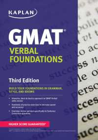 Kaplan GMAT Verbal Foundations (Kaplan Gmat Verbal Foundations) (3 PAP/PSC)