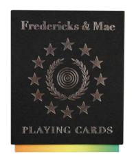 Fredericks and Mae Playing Cards (PCR CRDS)