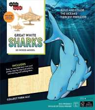 Incredibuilds: Great White Sharks 3d Wood Model (Incredibuilds) -- Kit (Proprietar)