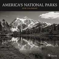 America's National Parks 2018 Calendar (MIN WAL)