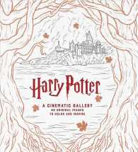 Harry Potter : A Cinematic Gallery: 80 Original Images to Color and Inspire (CLR CSM)