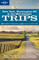 Lonely Planet New York, Washington D.C. & the Mid-Atlantic Trips (Lonely Planet Regional Guide)