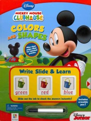Colors and Shapes (Mickey Mouse Clubhouse: Write, Slide and Learn) (INA NOV BR)