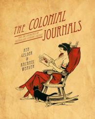 The Colonial Journals : And the Emergence of Australian Literary Culture