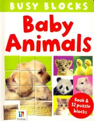 Baby Animals (Busy Blocks) (BRDBK/PZZL)