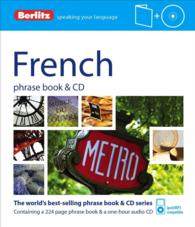 Berlitz French Phrase Book + Cd (PAP/COM)