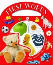 First Words (Busy Windows) -- Board book