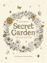 Secret Garden : Artist's Edition: 20 Drawings to Color and Frame (CLR CSM)