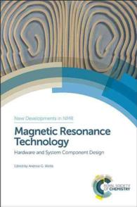�N���b�N����ƁuMagnetic Resonance Technology : Hardware and System Component Design (New Developments in Nmr)�v�̏ڍ׏��y�[�W�ֈړ����܂�