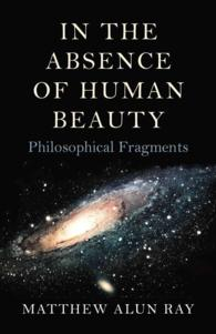 �N���b�N����ƁuIn the Absence of Human Beauty : Philosophical Fragments�v�̏ڍ׏��y�[�W�ֈړ����܂�