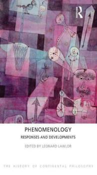 Phenomenology : Responses and Developments (The History of Continental Philosophy) (Reprint)