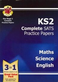 Ks2 Complete Sats Practice Papers - Science, Maths and English -- Paperback