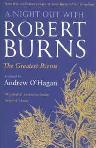 Night Out with Robert Burns : The Greatest Poems -- Paperback (Main ed)