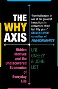 Why Axis : Hidden Motives and the Undiscovered Economics of Everyday Life -- Paperback