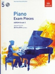 Piano Exam Pieces 2013-2014 Book & Cd Grade 5