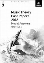 Music Theory Past Papers Model Answers 2012 Grade 5