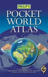Philip's Pocket World Atlas (Philip's World Atlases) -- Paperback