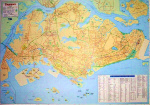 Laminated Hema Singapore Map (40 X 28)