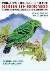 Phillipps' Field Guide to the Birds of Borneo (2 Revised)