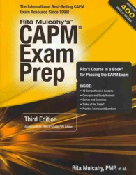 CAPM Exam Prep : Accelerated Learning to Pass PMI's CAPM Exam (3 PAP/CHRT)