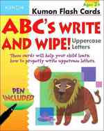 ABCs Uppercase Write & Wipe (Kumon Flash Cards) (FLC CRDS)