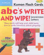ABCs Lowercase Write and Wipe (Kumon Flash Cards) (FLC CRDS)