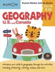 Geography U.S. and Canada (Kumon Sticker Activity Books, Pre-k & Up) (ACT CSM ST)