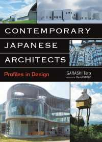 Contemporary Japanese Architects : Profiles in Design