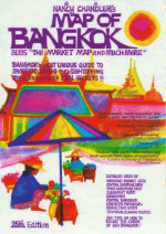 Nancy Chandler's Map Of Bangkok Alias The Market Map And Much More