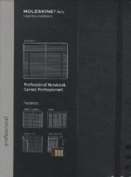 Moleskine Professional Extra Large Notebook / Carnet Professionnel (NTB BLG)