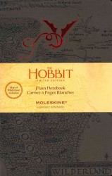 Moleskine Hobbit Notebook Plain Large (Limited)