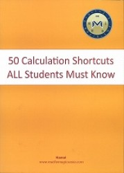 50 Calculation Shortcuts All Students Must Know