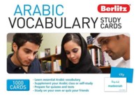 Berlitz Arabic Vocabulary Study Cards (Study Cards) (CRDS)