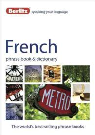 Berlitz French Phrase Book & Dictionary (Berlitz French Phrase Book) (Bilingual)