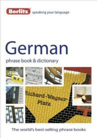 Berlitz German Phrase Book & Dictionary (Phrase Book)