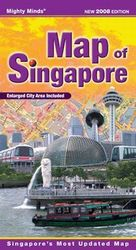 Map Of Singapore (Folded) 7667-8E
