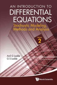 An Introduction to Differential Equations : Stochastic Modeling, Methods, and Analysis