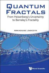Quantum Fractals : From Heisenberg's Uncertainty to Barnsley's Fractality