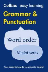 Collins Easy Learning English - Easy Learning Grammar and Punctuation (Collins Easy Learning English) -- Paperback (Second edi)