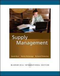 Supply Management : The Key to Supply Chain Management -- Paperback (8TH)