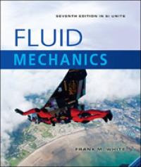 Fluid Mechanics -SI Units (IE) (7TH)