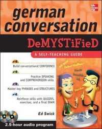 German Conversation Demystified (Demystified) (PAP/COM)
