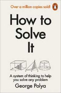 How to Solve it : A New Aspect of Mathematical Method -- Paperback