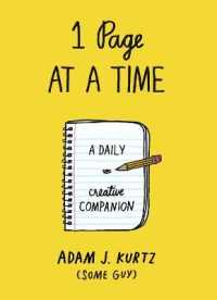 1 Page at a Time : A Daily Creative Companion -- Paperback