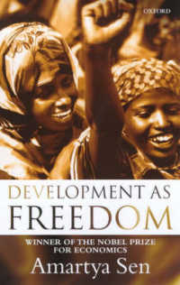 Development as Freedom -- Paperback